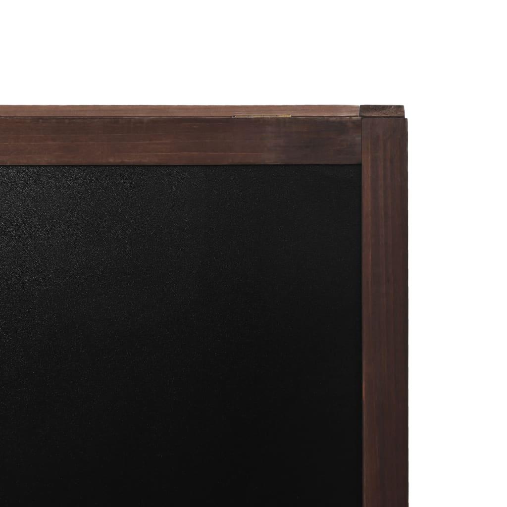 vidaXL Tafel Beidseitig Holz 60x80cm Kreidetafel Aufsteller Kundenstopper