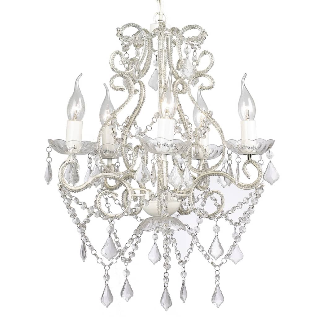 vidaXL Kronleuchter mit 2800 Kristallen Kristall Deckenleuchte Hängeleuchte