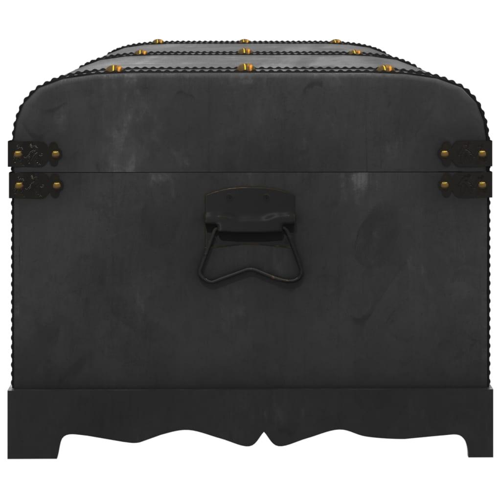 vidaXL Bauli in legno baule legno con cassetti cassapanca tavolino da caffè