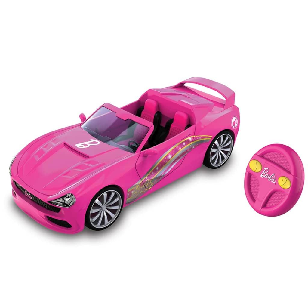 Nikko mașină de jucărie Barbie decapotabilă teleghidată 72000 imagine vidaxl.ro