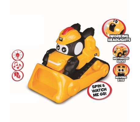 Caterpillar Pala excavadora de obras de juguete amarillo 80422[2/2]