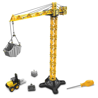 Caterpillar Construction Tower Crane With Forklift