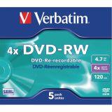 Verbatim DVD 4.7 GB 5 Pieces