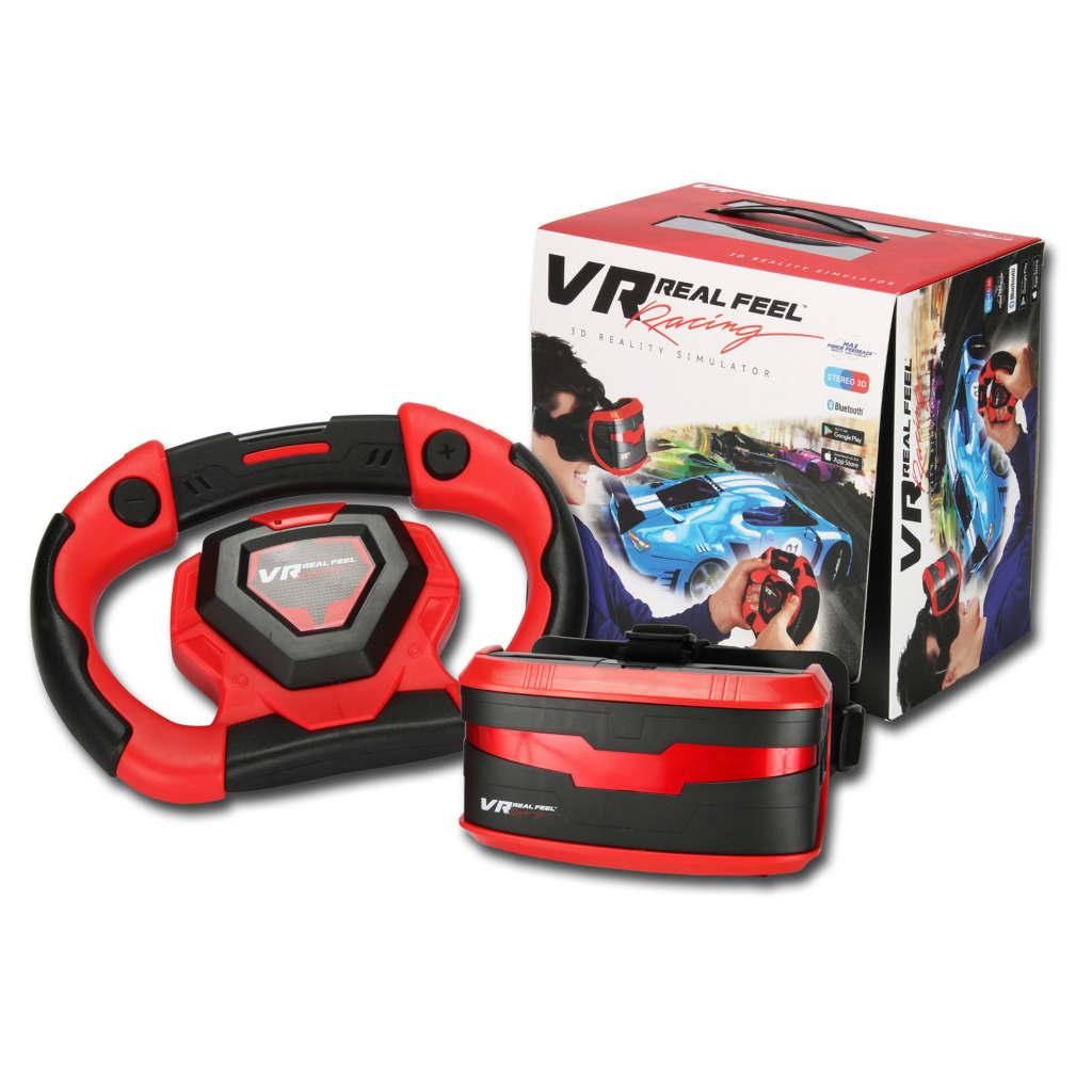 Afbeelding van Gear2Play 3D simulatorset VR Real Feel Racing rood en zwart VR49400