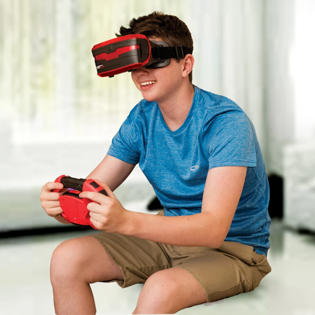 Gear2Play 3D-simulatorset VR Real Feel Racing rood en zwart VR49400