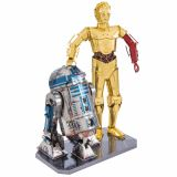 Metal Earth Kit de modèle 3D Marvel Star Wars R2D2 & C-3PO 570276