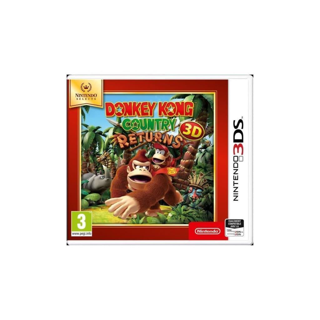 Nintendo Donkey Kong Country Returns 3DS Jeu Selects
