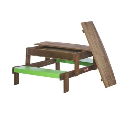 acheter table de pique nique 2 en 1 bac sable int gr little tikes 172847 pas cher. Black Bedroom Furniture Sets. Home Design Ideas