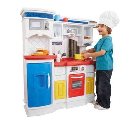 acheter cuisine pour enfant prep 39 n serve little tikes 173028 pas cher. Black Bedroom Furniture Sets. Home Design Ideas