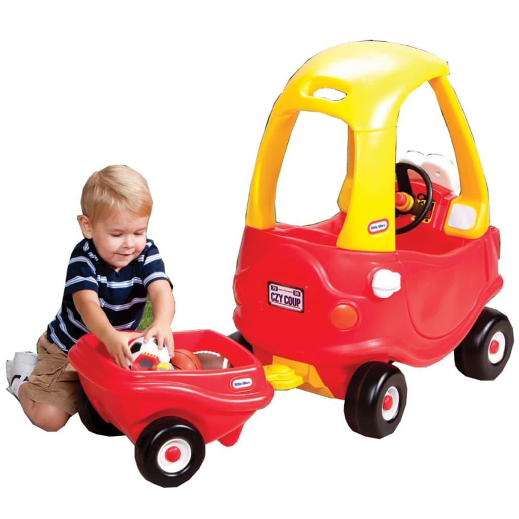 Little Tikes Aanhangwagen voor loopauto Cozy Coupe rood