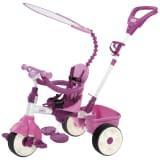 Triciclo rosa deluxe 4 en 1, marca Little Tikes