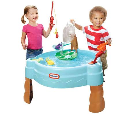 Little tikes wasser fischteich tisch set 637803 g nstig for Fischteich wasser reinigen