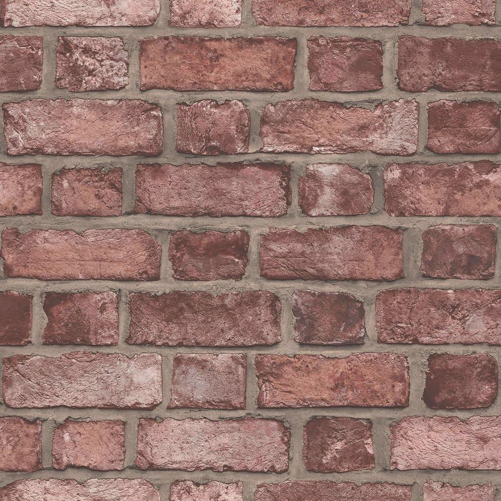 Homestyle Behang Brick Wall rood