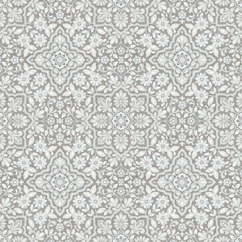 Homestyle Behang Portugese Tiles grijs
