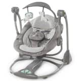 Ingenuity Columpio para bebé 2-en-1 Orson gris K10037