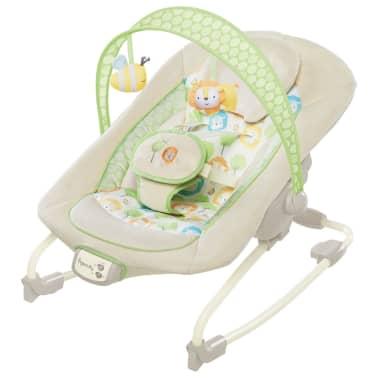 """Ingenuity Balancelle pour bébés """"Sunny Snuggles"""" Blanc[1/2]"""