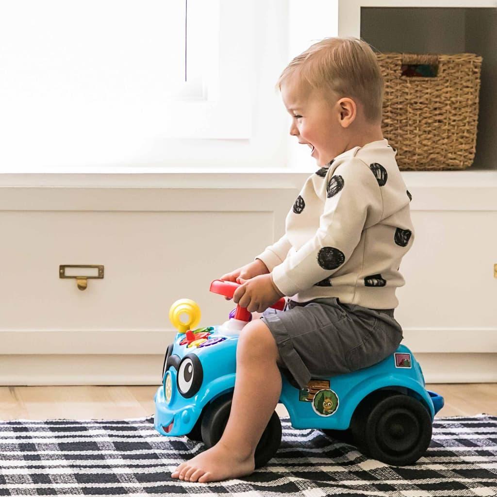 99424983 Baby Einstein Roadtripper Lauflernhilfe und Rutschauto