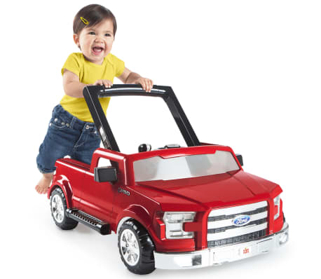 Bright Starts Trotteur 3 Ways to Play Ford F-150 Rouge K10630[6/9]
