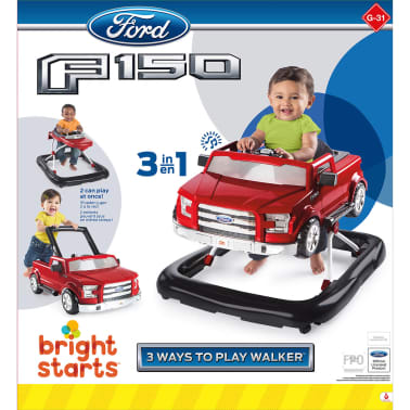 Bright Starts Trotteur 3 Ways to Play Ford F-150 Rouge K10630[9/9]