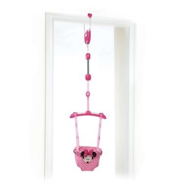 Disney Balançoire de porte pour bébé Minnie Mouse Rose[1/10]