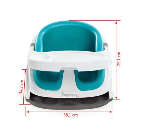 Ingenuity azul Asiento Elevador 2en1
