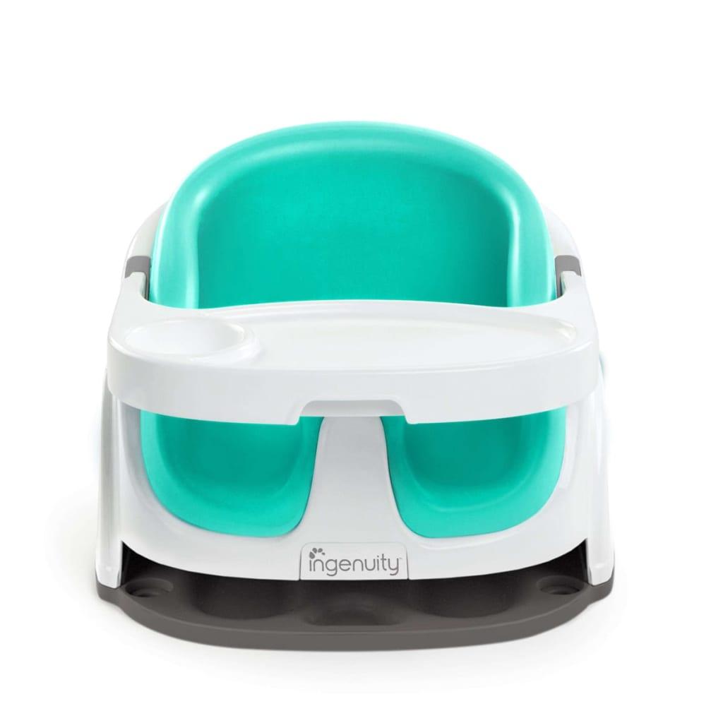 Afbeelding van Ingenuity Baby Base 2-in-1 Boosterzitje ultramarijn groen K10870
