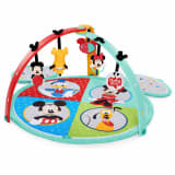 Disney Baby Tapis de jeu facile à ranger Mickey Mouse Multicolore