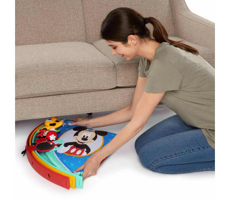 Disney Baby Tapis de jeu facile à ranger Mickey Mouse Multicolore[4/5]