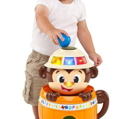 Bright Starts Affenversteckspiel Hide 'n Spin Monkey K10308[6/7]