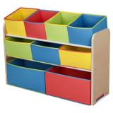 Delta Children TB84752GN XXL Houten Speelgoed Opbergkast Multi-Color