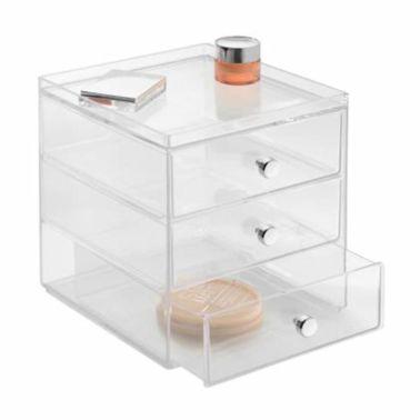 Boite de rangement pour cosmétiques 3 tiroirs InterDesign[1/3]