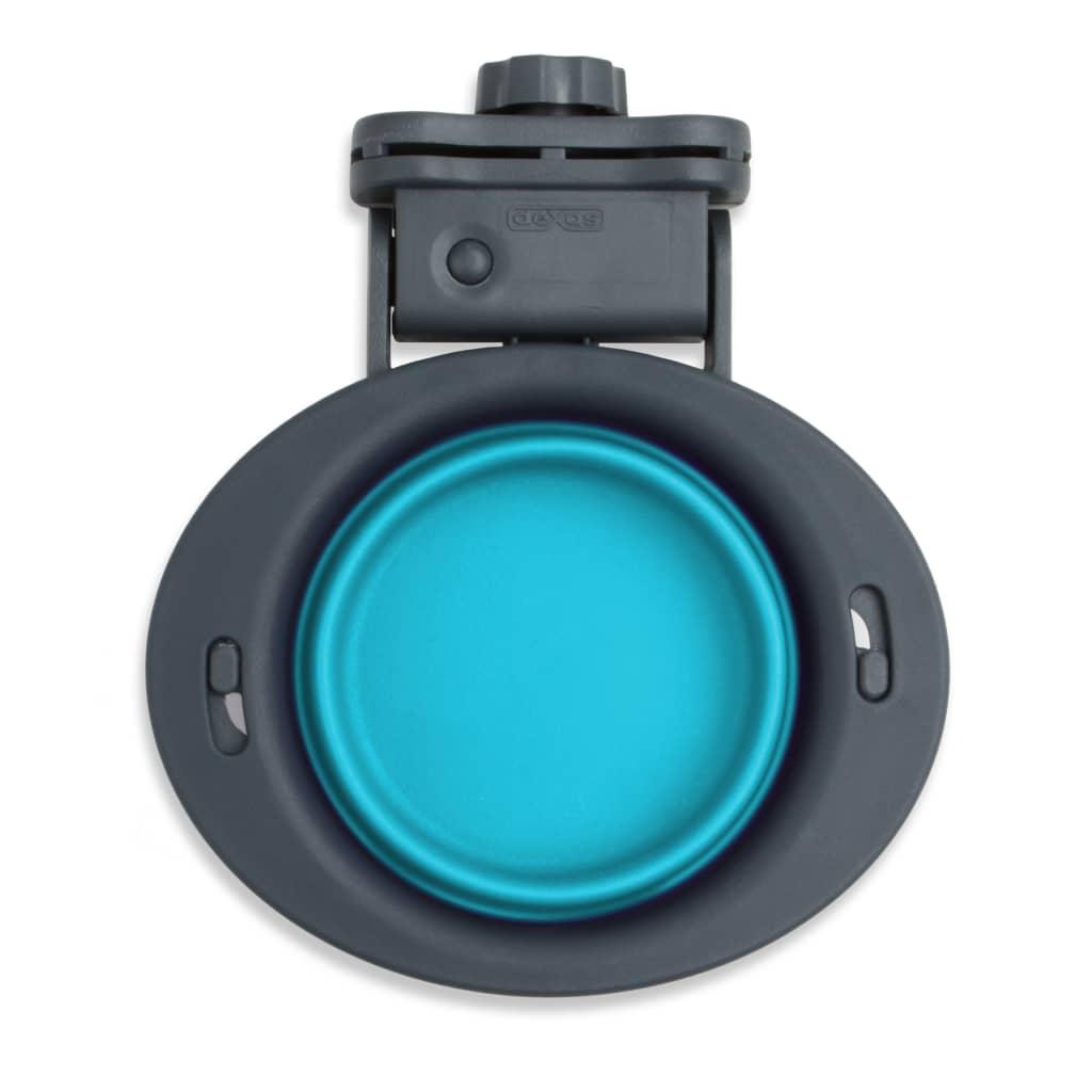 Popware Voerbak inklapbaar met houder blauw 307080