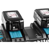 MAKITA Chargeur Rapide pour 2 Batteries DC18RD