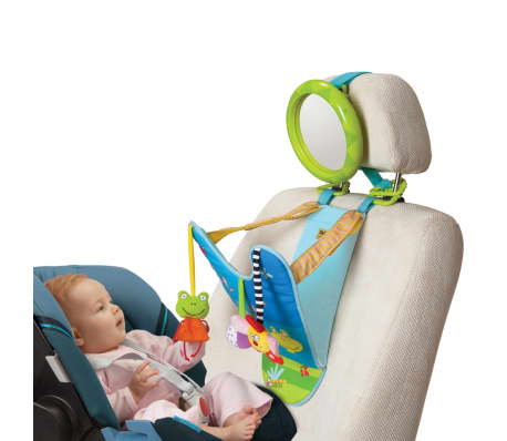 The Colourful Engaging Baby Toy From Taf Toys Will Delight Your Little One When Travelling In A Rear Facing Car Seat With An Assortment Of Cute Hanging