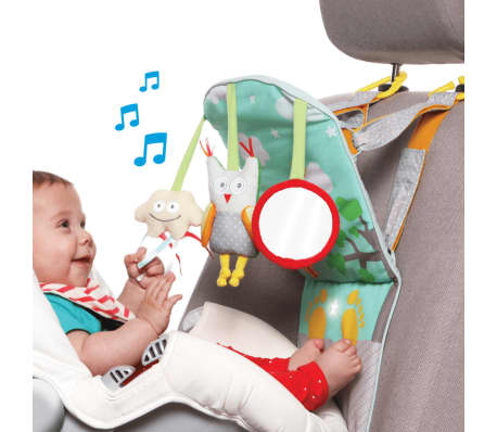 Your Baby Can Get Bored Sitting In A Rear Facing Seat But That All Changes With The Fun Taf Toys Play Kick Car Toy