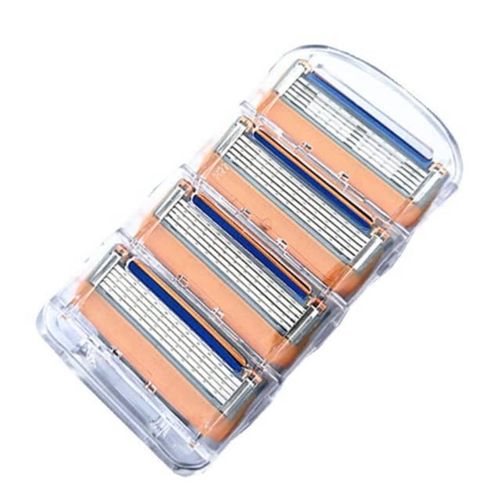 eStore 4-pack rakblad kompatibla med Gillette Fusion / Power/ Proglide
