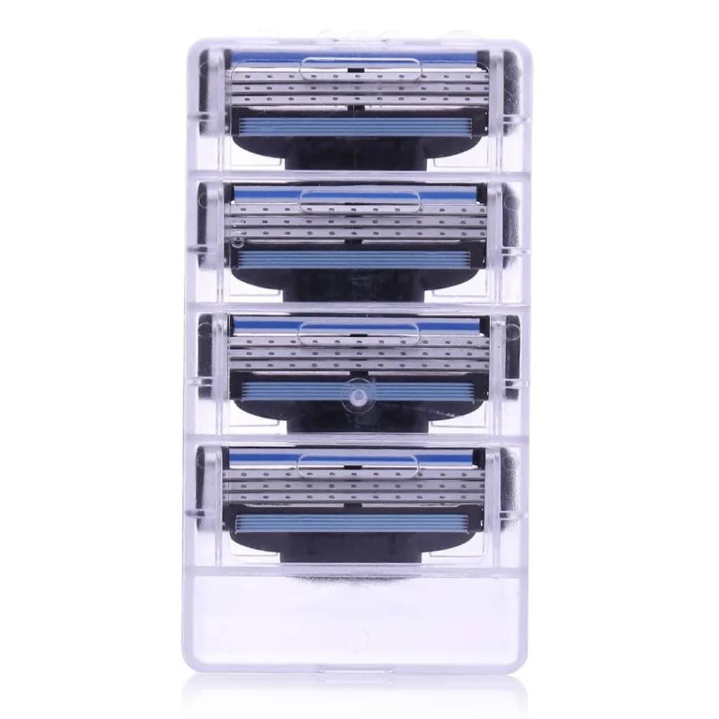 eStore 4-pack Rakhuvud kompatibla med Gillette Mach3