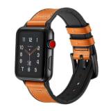 Apple Watch -ranneke + kuori 42 mm - Oranssi