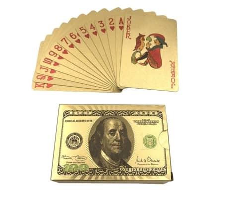 Spelkort - Kortlek i 24K Guldplätering[2/8]