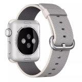 Apple Watch Woven Nylon Band - White