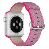 Apple Watch Woven Nylon Band - Pink