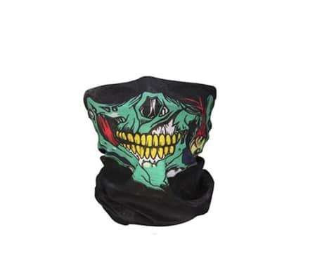 Multifärg Skelett Mask / Scarf / Halsduk   Halloween - Skeleton