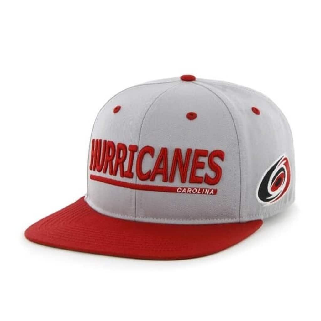 Afbeelding van 47 Brand Hurricanes Carolina pet grijs/rood one size