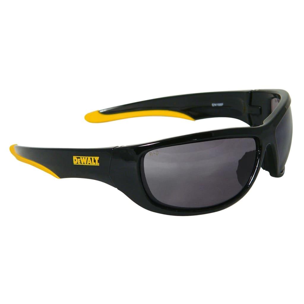 Afbeelding van DeWalt Veiligheidsbril Dominator geel en zwart DPG94-2D EU
