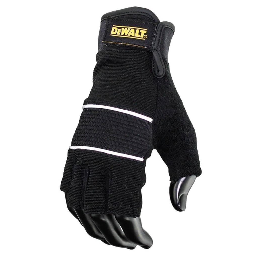 Afbeelding van DeWalt Werkhandschoenen halve vingers zwart DPG213L EU