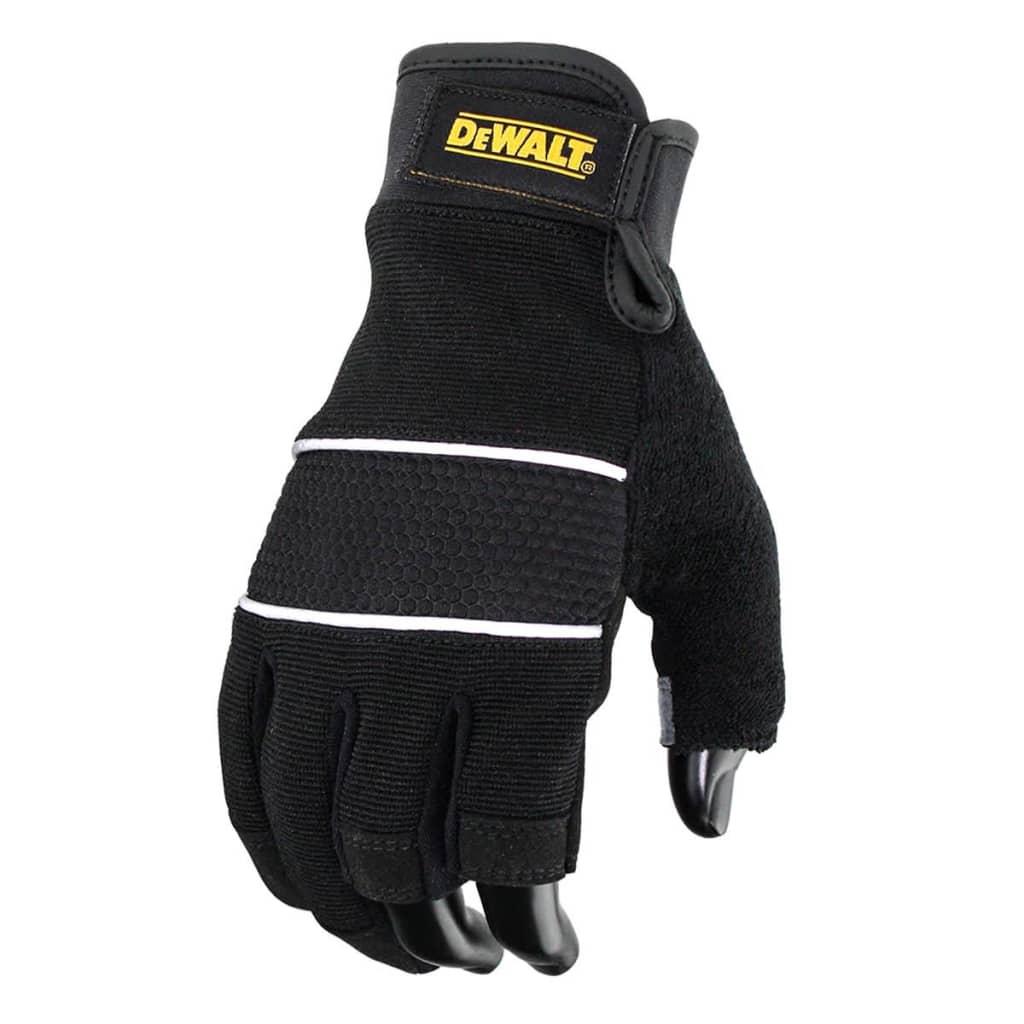 Afbeelding van DeWalt Werkhandschoenen 3 vingers zwart DPG214L EU