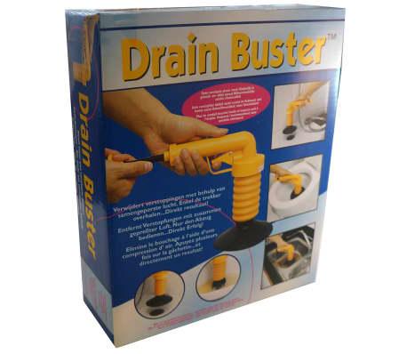 Drain Buster Handhållen vaskrensare orange och svart[12/12]