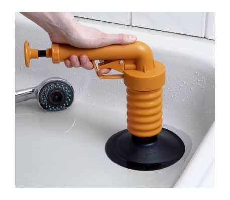Drain Buster Handhållen vaskrensare orange och svart[4/12]