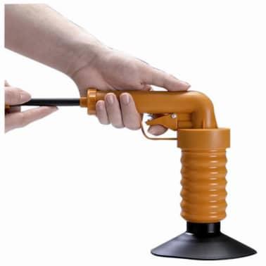 Drain Buster Handhållen vaskrensare orange och svart[3/12]