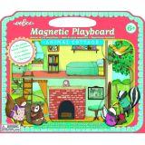 Eeboo Magnetic Playboard Animal Cottage